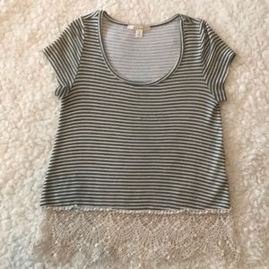 Short sleeved top size Small